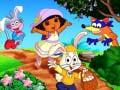 Ігра Dora Happy Easter Spot the Difference