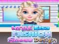 Игра Little Elsa Fashion Shoes Design