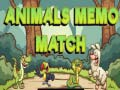 Игра Animals Memo Match