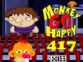 Hra Monkey GO Happy Stage 417