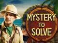Игра Mystery to Solve