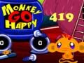 Игра Monkey Go Happy Stage 419