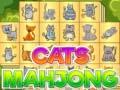 Игра Cats mahjong