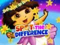 Игра Dora Spot The Difference