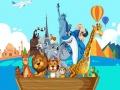 Ігра Crazy Friends Travel The World Puzzle