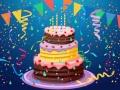 Игра Birthday Cake Puzzle