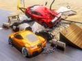 Ігра Chained Car Stunts Race Mega Ramp
