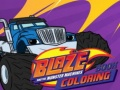 Ігра Baze and the monster machines Coloring Book