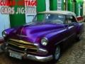 Ігра Cuban Vintage Cars Jigsaw