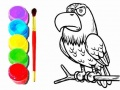 Игра Eagle Coloring Book