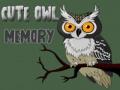 Cute Owl Memory ﺔﺒﻌﻟ