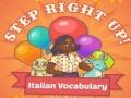 Ігра Step Right Up! Italian Vocabulary