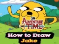 Ігра Adventure Time How to Draw Jake