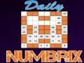 Ігра Daily Numbrix