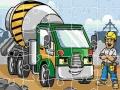 Ігра Construction Trucks Jigsaw