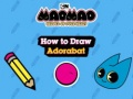 Ігра Mao Mao Heroes of Pure Heart How to Draw Adorabat