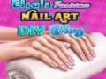 Ігра Elsa's Fashion Nail Art DIY Blog