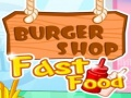 Игра Burger Shop Fast Food