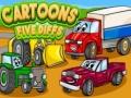 Ігра Cartoons Five Diffs