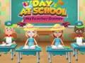 Ігра Day at School My teacher games