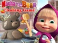 Ігра Masha And The Bear Cleaning Game