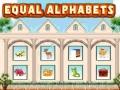 Ігра Equal Alphabets
