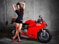 Ігра Motorcycle And Girls Slide 2
