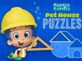 Spel Bubble Guppies Pet House Puzzles