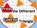 Ігра Press The Different Colored Triangle