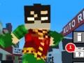 Ігра teen titans go minecraft teenage runner 3d