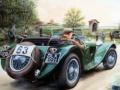 Ігра Painting Vintage Cars Jigsaw Puzzle