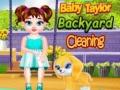 Ігра Baby Taylor Backyard Cleaning