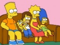 Ігра The Simpsons Jigsaw Puzzle