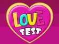 Ігра Love Test