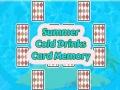 Ігра Summer Cold Drinks Card Memory