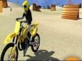Spel Motor Cycle Beach Stunt