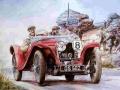 Ігра Painting Vintage Cars Jigsaw Puzzle 2
