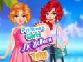 Ігра Princess Girls Air Balloon Trip