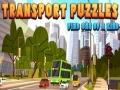 Lojë Transport Puzzles find one of a kind