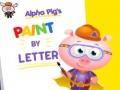 Ігра Alpha Pig's Paint By Letter
