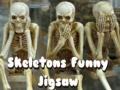 Ігра Skeletons Funny Jigsaw