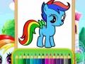Ігра Wonder Pony Coloring