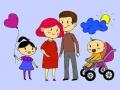 Ігра Happy Family Coloring Book