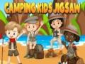 Ігра Camping kids jigsaw