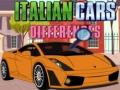 Ігра Italian Cars Differences