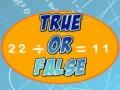 Ігра True Or False