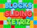 Ігра Blocks sliding tetrizс