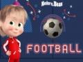 თამაშის Masha and the Bear Football