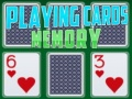 Игра Playing Cards Memory