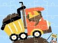 Ігра Dumper Trucks Jigsaw